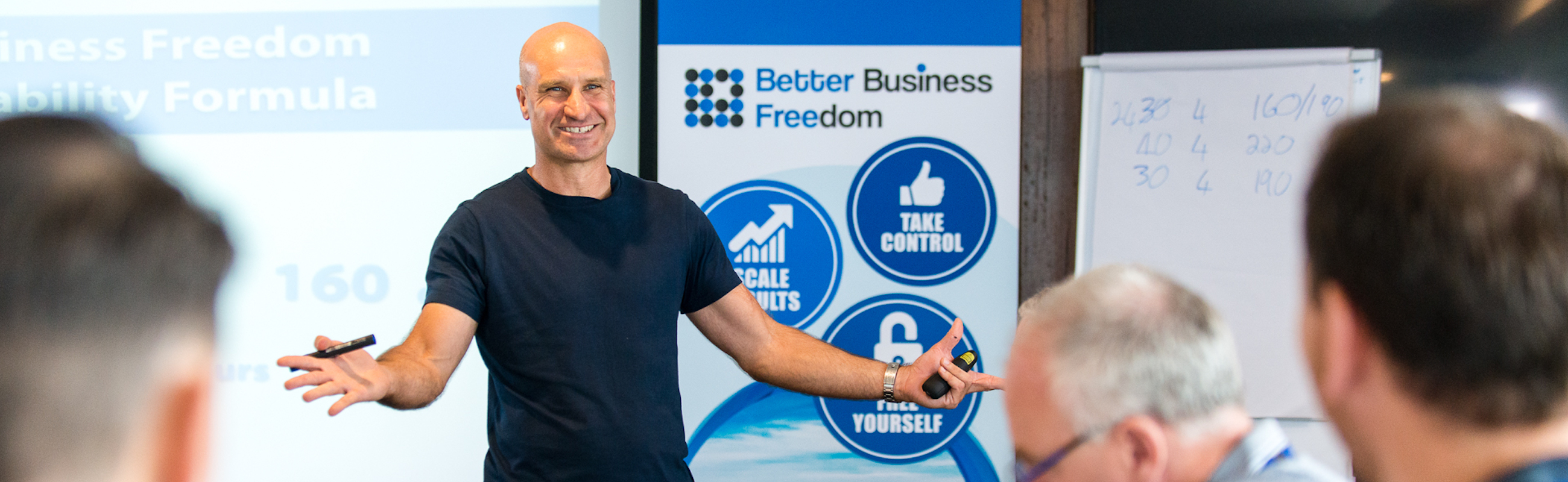 Sunshine Coast Business Coach - Jean-Marc Barbeau